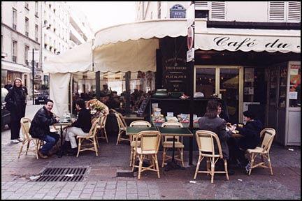 Corner Cafe in Paris