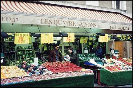 Paris Fresh Fruit Market