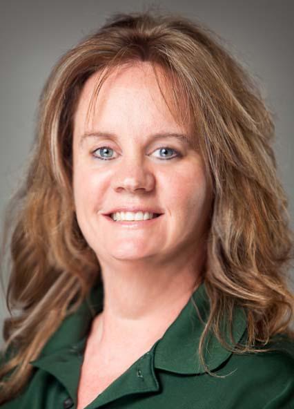 A picture of Glenda O'Dell, a secretary for the Student Success Center at MSSU.